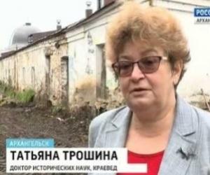 В Архангельске в районе Гостиного двора найдено множество костей