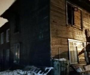 В Вельске в результате пожара погиб мужчина