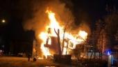 В Архангельске сгорел очередной памятник