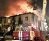 В Архангельске горело офисное здание