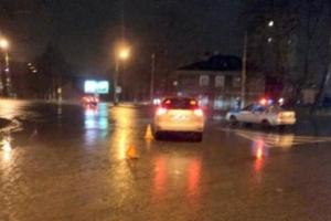 В Архангельске молодая девушка сбила на машине пьяного прохожего