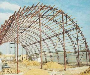 Виды, состав и область применения металлических конструкций
