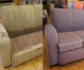 Выгоды перетяжки старой мебели