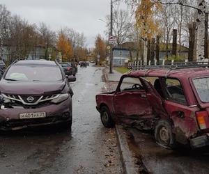 В Архангельске произошло ДТП с пострадавшими
