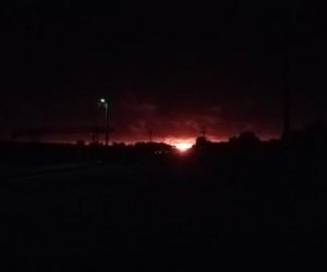 В Архангельской области горел магистральный газопровод