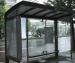 В Архангельске пассажирский автобус врезался в остановку