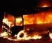 В Архангельске загорелся автобус из-за пироманов