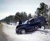 На Северодвинской трассе столкнулись два внедорожника