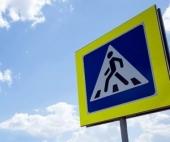 В Архангельске водитель сбил мужчину с ребенком на руках