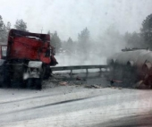 На Северодвинской трассе произошло серьезное ДТП