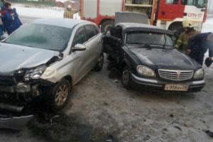 На окраине Архангельска произошло тройное ДТП