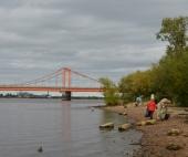 Жители Архангельска поучаствовали в субботнике по уборке берега Северной Двины