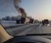 В Архангельске на ходу загорелась бетономешалка