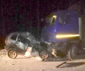 В Котласском районе погиб водитель