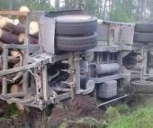В Поморье погиб водитель лесовоза