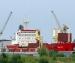 В Архангельском порту горел сухогруз