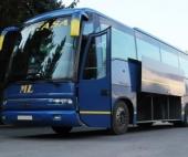 В Архангельске на автовокзале загорелся автобус