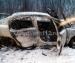 В Поморье босой водитель тушил автомобиль