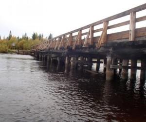 В Архангельске отремонтируют мост через реку Ижма