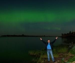 Северное сияние можно было наблюдать в Архангельской области