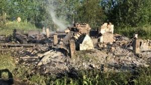 В Архангельске в пожаре погибли двое мужчин
