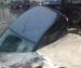 В центре Северодвинска под асфальт провалился автомобиль