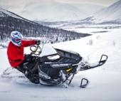 В Северодвинске погиб мужчина, катаясь на снегоходе