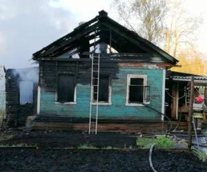 Пожар в частном доме на Бревеннике унес жизнь человека