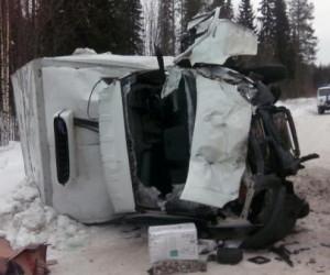 В Архангельской области произошло серьезное ДТП