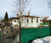На окраине Архангельска сгорел частный дом