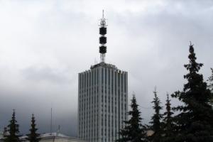 На самом высоком здании Архангельска были проведены пожарные учения