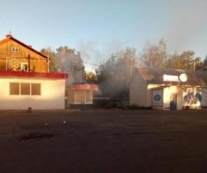 В Архангельске горела булочная