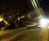 В Поморье была перекрыта трасса из-за столкновения двух большегрузов