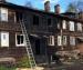 В Архангельске произошло возгорание в жилом деревянном доме