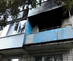 В Архангельской пятиэтажке произошел пожар