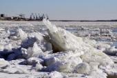 До Архангельска добрался ледоход