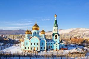Строится новый Михаило-Архангельский собор