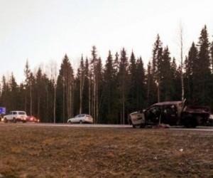 В Поморье в аварии погибли три человека