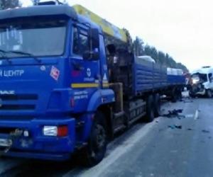В Холмогорском районе произошла серьезная авария