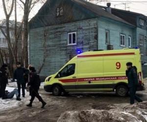 Четырехлетний  мальчик погиб в пожаре в Архангельске