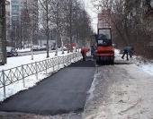 В Архангельске ведутся ремонты дорог с помощью морозостойких технологий