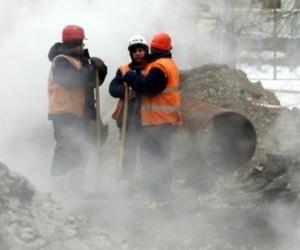 В Архангельске часть улицы Садовой провалилась под землю
