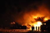 В Архангельской области женщина самостоятельно справилась с огнем в двухквартирном доме