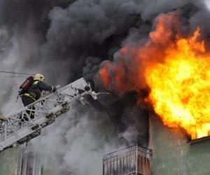 В Плесецком районе в пожаре погибла женщина