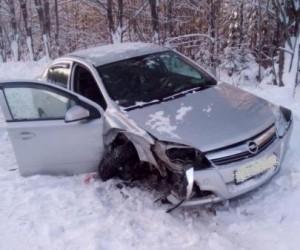 В Поморье пьяный водитель устроил ДТП